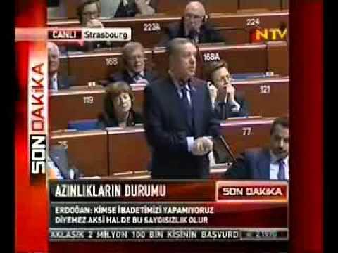 Recep Tayyip Erdoğan - QARABAĞ (Avropa Şurası)