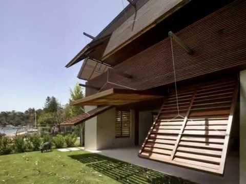 Front House Design - Wall Designed to be Movable Automatically at ...