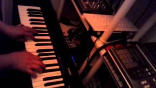 """ちょっとだけですが、チャー研の名[迷]曲 """"キチガイレコード"""" をピアノ..."""