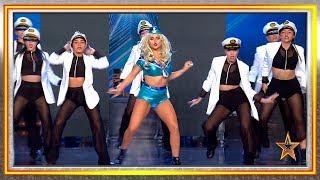 Este HOMENAJE a CHRISTINA AGUILERA se lleva un PASE de ORO | Audiciones 9 | Got Talent España 2019