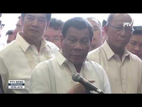 President Duterte visits Japanese escort Flotilla in Subic