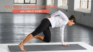 A 5-minute full-body strength workout from Charlee Atkins