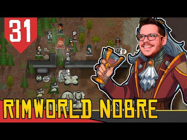 Menos Pernas, mais METAL! - Rimworld Nobility Base Aberta #31 [Gameplay Português PT-BR]