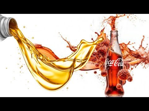 Coca Cola Sal e Óleo. Mix coke Salt Oil.