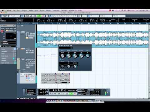 Tempo Editing in Cubase
