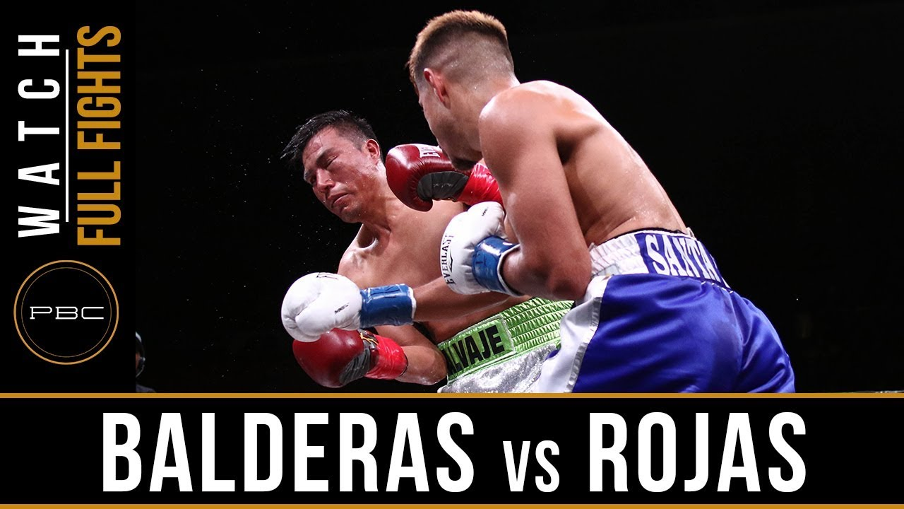 Balderas vs Rojas FULL FIGHT: February 17, 2018 - PBC on FOX