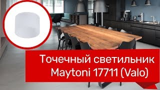 Точечный светильник MAYTONI 17711 (MAYTONI Valo DL037-2-L5W) обзор