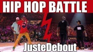 HIP-HOP style dance battle Kenzo & Shay  vs Bruce Blanchard & Junbox