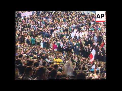POLAND: WROCLAW: POPE JOHN PAUL II VISIT