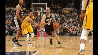 San Antonio Spurs vs Indiana Pacers | Full Game Highlights | March 31, 2014 | NBA 2013-14 Season