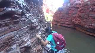 how to access Handrail Pool in DRY SEASON- Australia