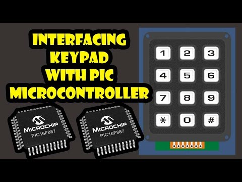 Interfacing of Keypad with PIC Microcontroller - The Engineering
