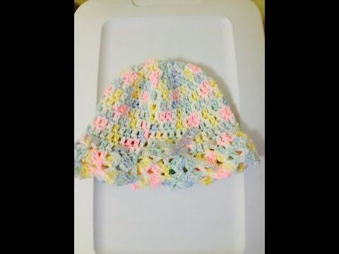 Girls Beanie Crochet - Tutorial Tamil