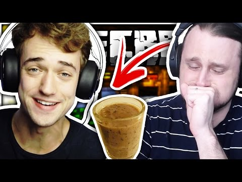 Minecraft | HE DRINKS THE DISGUSTING SMOOTHIE!!