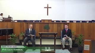 Culto Dominical - Deus e o Seu Povo