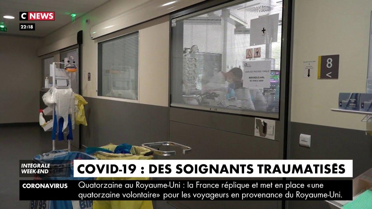 Coronavirus : des soignants marqués par la crise sanitaire
