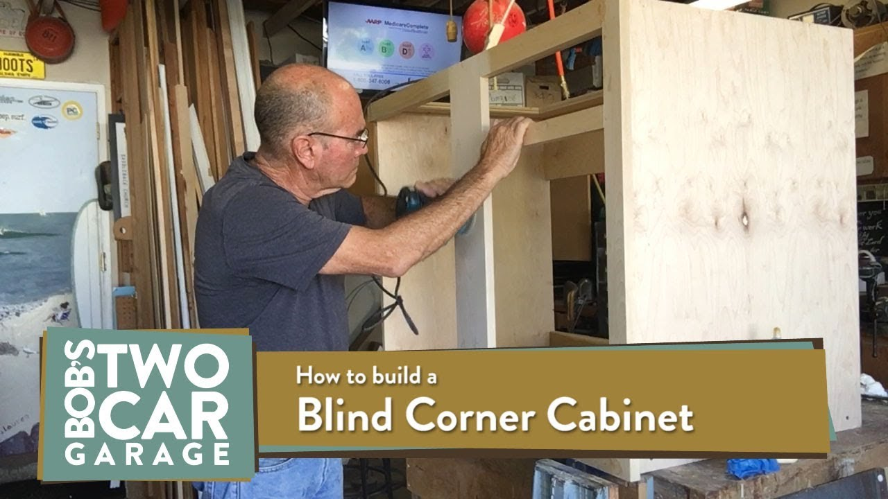 how to make a blind corner kitchen cabinet youtube build a corner wall cabinet build a corner cabinet entertainment center
