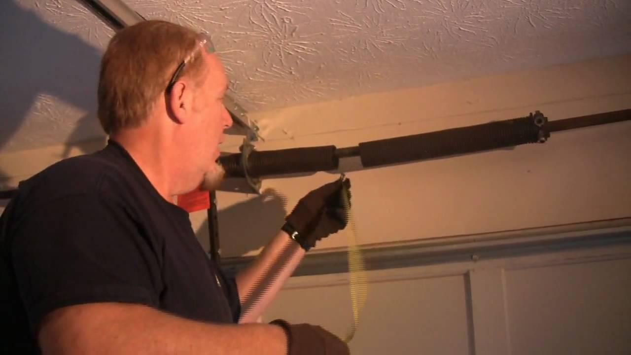Garage Door Spring Repair and Replacement - HABPRO of ... on Overhead Garage Door Spring Replacement  id=75595