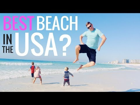 🏝️ BEST BEACH IN THE USA! 🌍 FULL-TIME TRAVELING FAMILY OF 6 👍