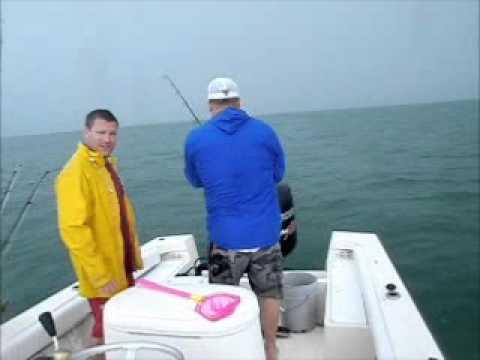 Capt John O'Hanlon Fishing with Brian Pfeiffer II