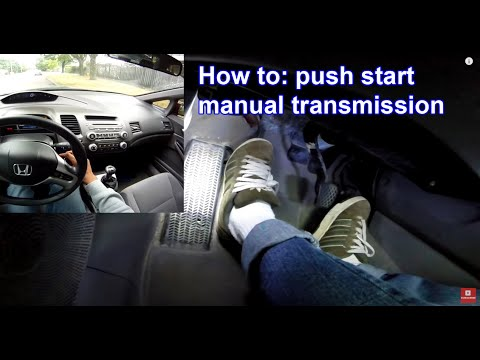 How to roll start your manual car