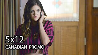 """Pretty Little Liars 5x12 CANADIAN Promo - """"Taking This One to the Grave"""" - Season 5 Episode 12"""