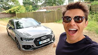 IT'S HERE! MY NEW AUDI RS4!