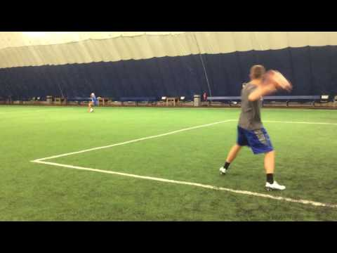 Jack Coan & Phil Simms Practice