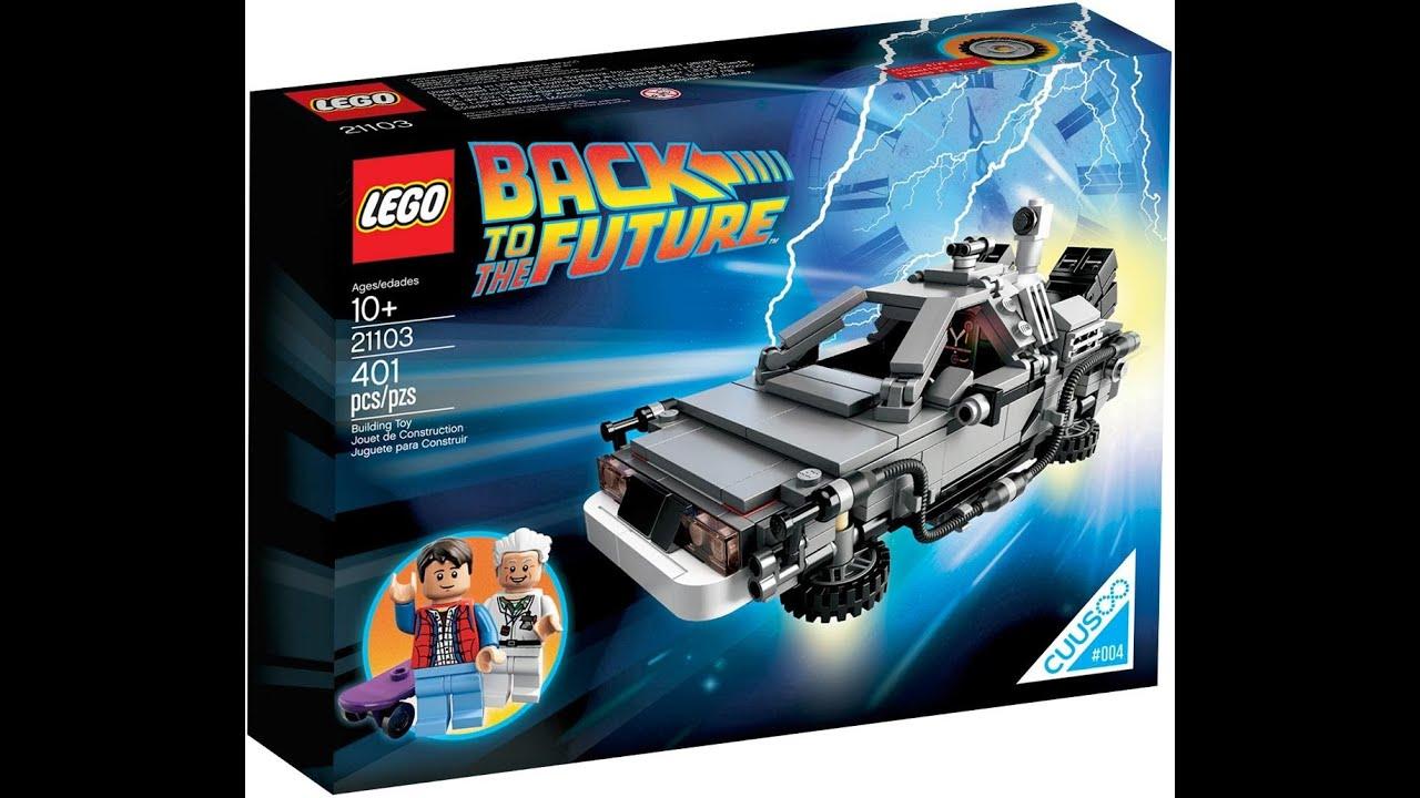 LEGO Volver al Futuro: DeLorean DMC-12: 21103 - YouTube