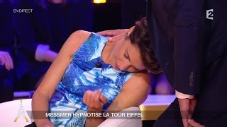 Messmer hypnotise Alessandra Sublet en direct