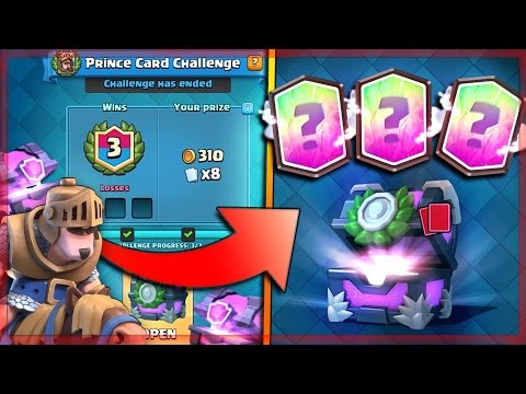 GOT IT! x3 LEGENDARIES & UPDATE PRINCE EVENT! | Clash Royale x2 NEW EVENT CHEST OPENING!