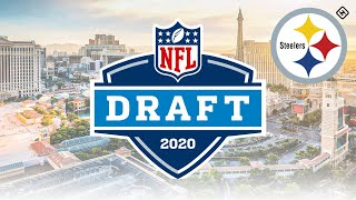 First Offical Pittsburgh Steelers 2020 NFL Mock Draft 2 in 1 **HD Quality**