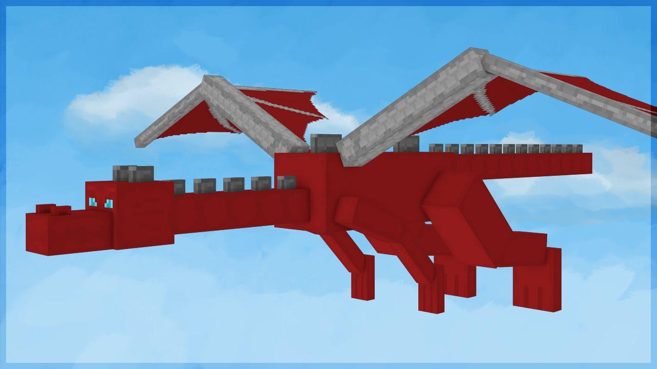 Bebe Dragon Minecraft Build