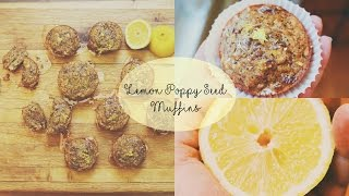 Lemon Poppy Seed Muffins // Moresaltplease