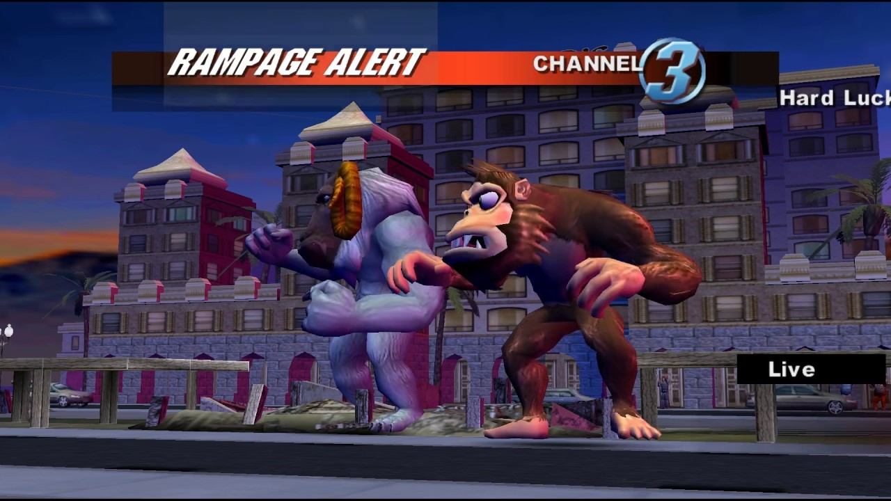 Rampage Total Destruction Gamecube 2 Player Netplay 60fps Youtube