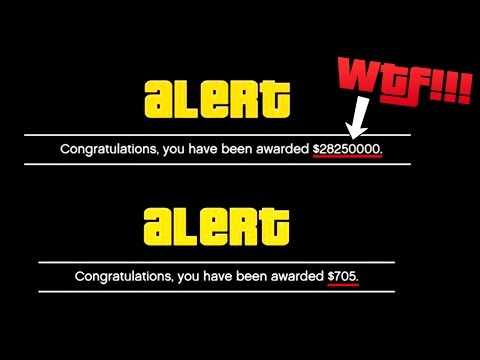 WHY SOME GTA ONLINE PLAYERS ARE RECEIVING 20+ MILLION DOLLARS FROM ROCKSTAR