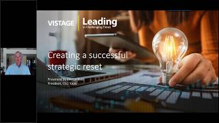 Creating a Successful Strategic Reset | Vistage
