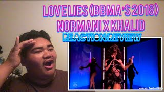 NORMANI KORDEI & KHALID - Love Lies (Billboard Music Awards Live) [REACTION/REVIEW]