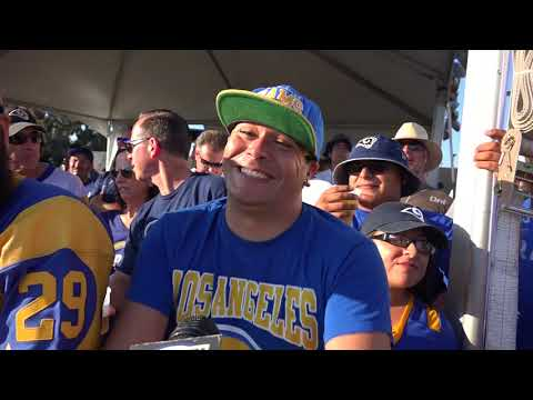 "Rams fans discuss the Chargers & their ""Fight for LA"""