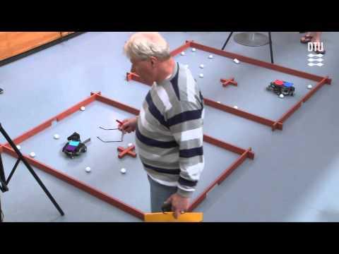 Mine sweeping - 2014 Annual competition for autonomous robots