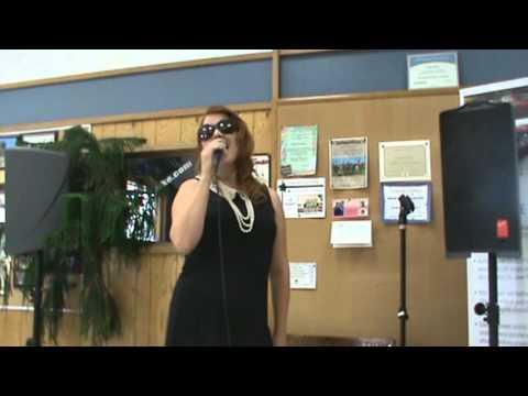 Sara Brown - Booth & LaDuke Karaoke Contest.MPG
