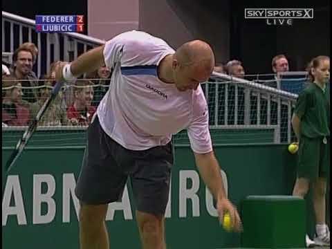 Federer vs Ljubicic - Rottadam 2005 Final