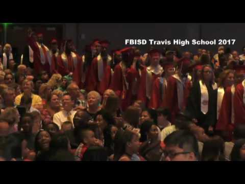 Fort Bend ISD Travis High School Graduation 2017