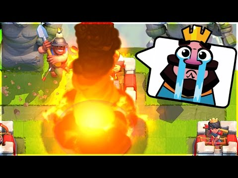 MINER ROCKET 3 CROWN - Clash Royale - 2X ELIXIR FUN
