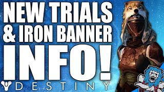 Destiny: New Iron Banner & Trials Of Osiris Info! Whats New & Whats Changed?