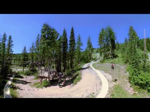Whitefish Mountain Resort, Whitefish (Montana 360 Warm Season)