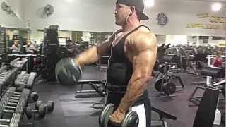 Best Shoulder Exercises for Building Muscle Mass w/ NPC Super Heavyweight, Carlos Davito