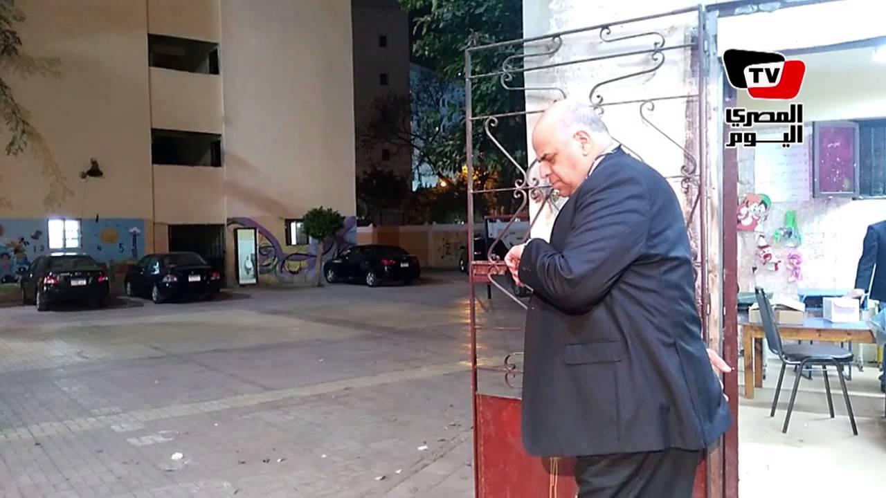 المصري اليوم: الانتخابات البرلمانية| لحظة غلق إحدى اللجان بمنطقة رمسيس