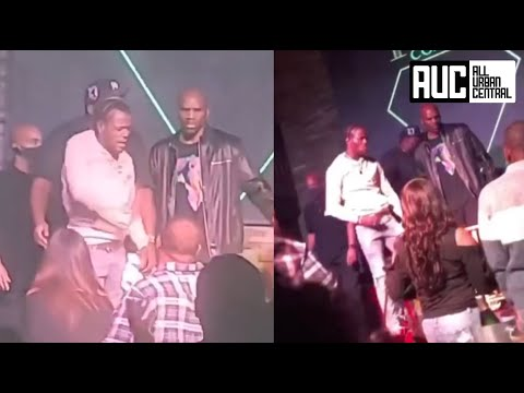 Download DC Young Fly KO's Fan Who Kept Trying To Walk On Stage While Performing
