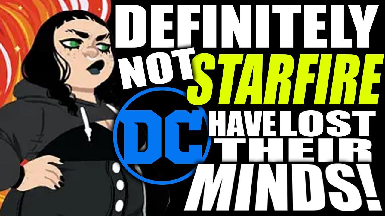 "DC'S NEW HOT MESS ""I'M NOT STARFIRE"" YA GRAPHIC NOVEL ANNOUCED..."